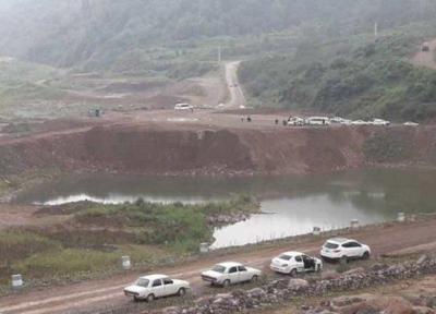 پیشرفت 61 درصدی عملیات اجرایی سد پلرود در رودسر