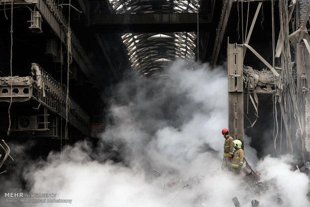 معین تکلیف دیه و خسارت پلاسکو، پرداخت28میلیارد ریال به آتش نشانان