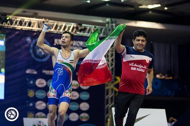 تیم ایران قهرمان کشتی فرنگی جوانان دنیا شد