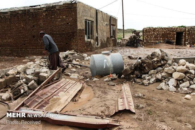 خسارت 1500 میلیاردی سیل به شبکه ارتباطی، نابودی مخابرات پلدختر