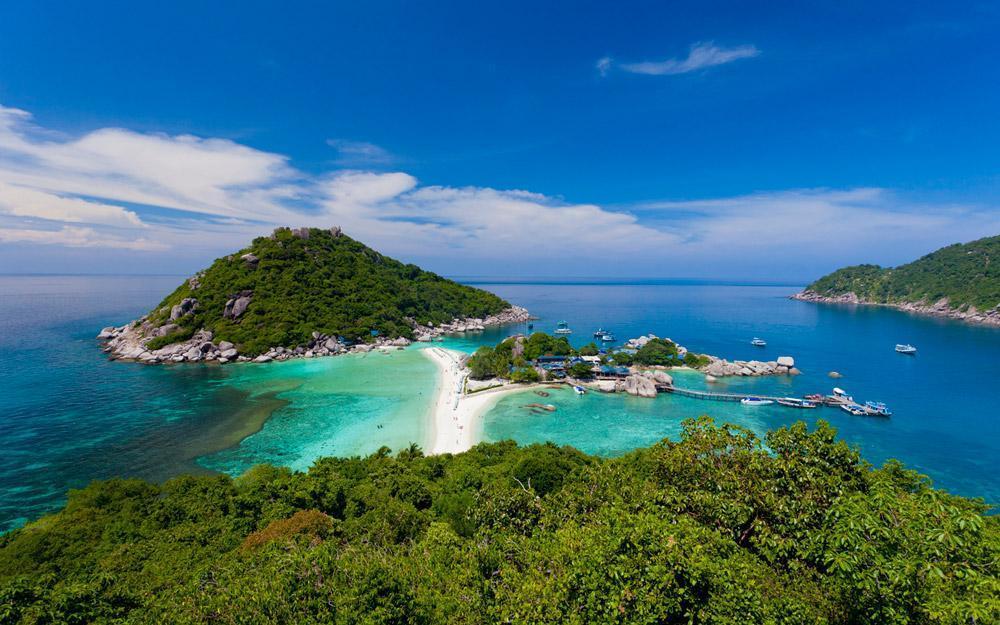 جزیره لاک پشت در سامویی تایلند