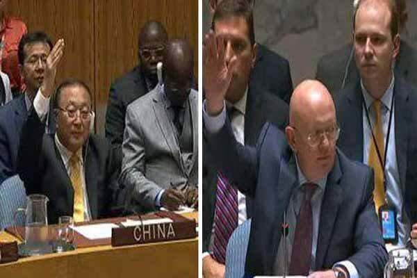 راز وتوی همزمان قطعنامه ادلب از سوی چین و روسیه