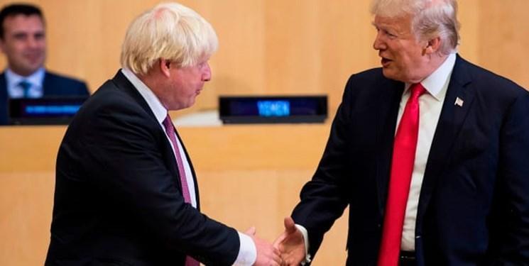 لندن: ترامپ و جانسون خواهان پاسخ دیپلماتیک به حمله آرامکو شدند
