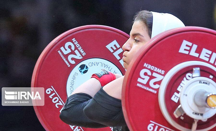 نتایج بانوان وزنه بردار ایران در مسابقات قهرمانی دنیا تایلند