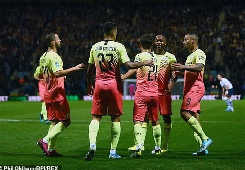 جام اتحادیه انگلیس، صعود آسان منچسترسیتی، اورتون و آرسنال به دور چهارم، تاتنهام به تیم دسته چهارمی باخت و حذف شد