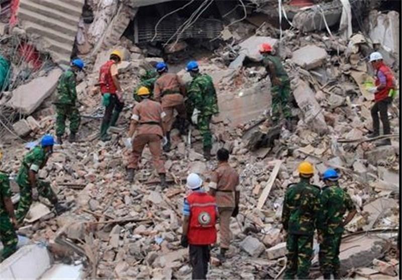 9 کشته درپی ریزش ساختمان یک کارخانه در شمال چین