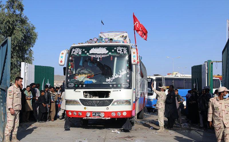 افزون بر 15 هزار زائر پاکستانی از مرز میرجاوه وارد ایران شدند
