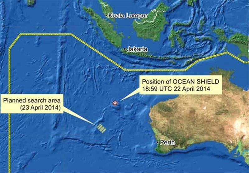 اظهارات متفاوت استرالیا و مالزی درباره یافتن یک شیئ تازه در سواحل استرالیا