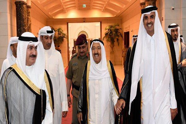 امیر کویت برای همتای قطری خود دستخط فرستاد