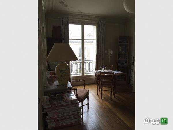 بازسازی آپارتمان قدیمی، یکه تازی فرش ایرانی در خانه فرانسوی!