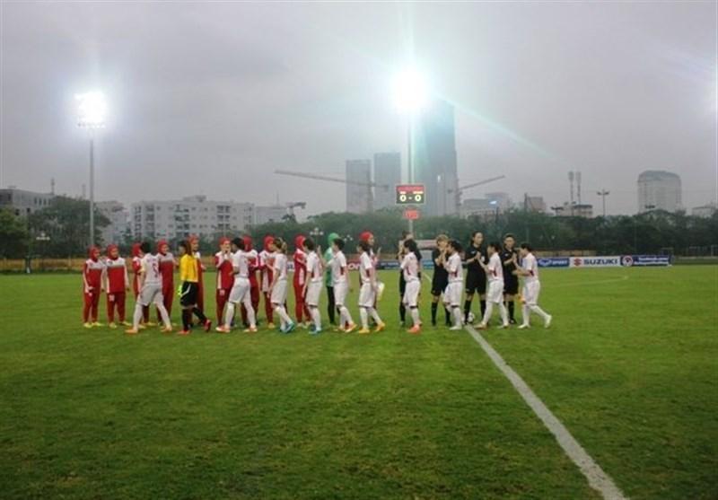 سومی تیم فوتبال دختران نوجوان ایران در تورنمنت هنگ کنگ
