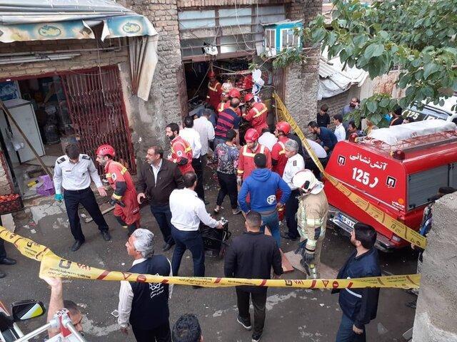مرگ 2 کودک خردسال در پی ریزش کف سوپرمارکت در کن
