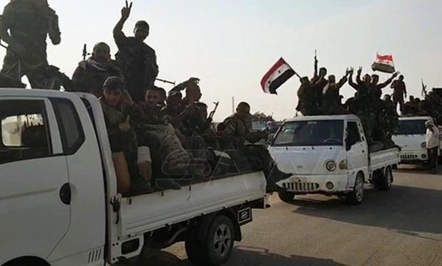ورود نیرو های ارتش سوریه به مرز های این کشور با ترکیه