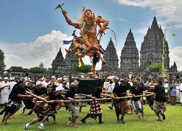 مراسم سال نوی نایپی، روز سکوت در بالی اندونزی