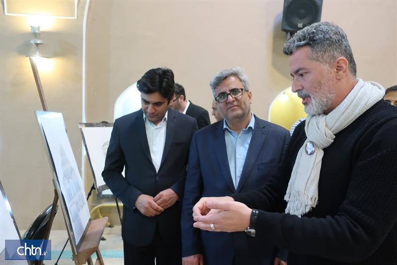برگزاری نمایشگاه دوسالانه مستندنگاری معماری بومی در باغ جهانی دولت آباد یزد