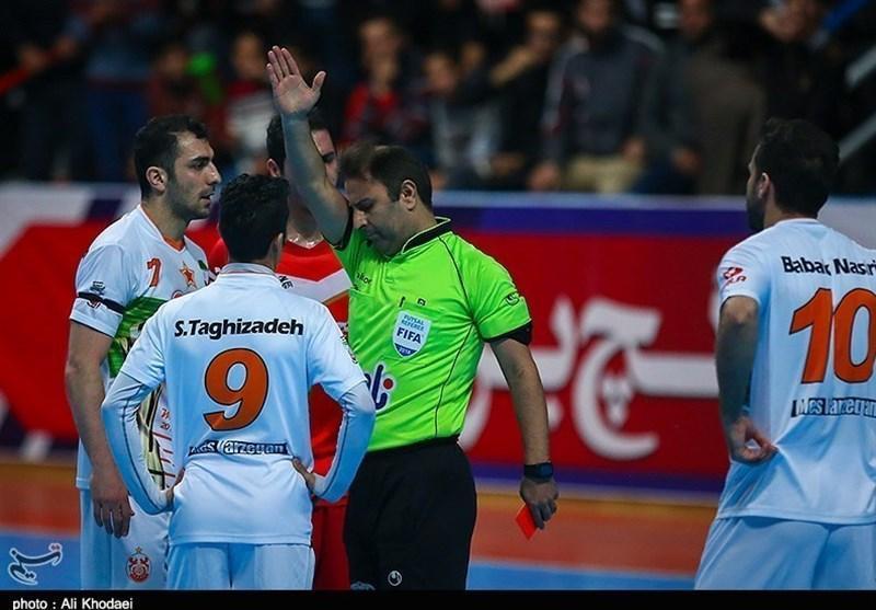 قضاوت داوران ایرانی در جام ملت های فوتسال آسیا 2020