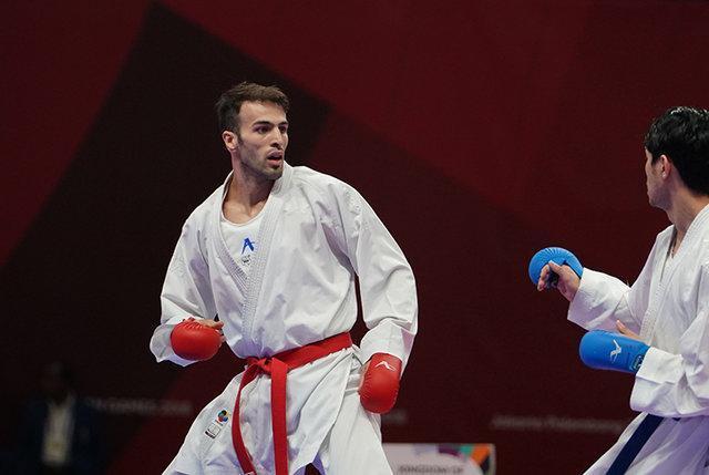 صعود عسگری به فینال کاراته لیگ جهانی پاریس، آسیابری و خاکسار حذف شدند