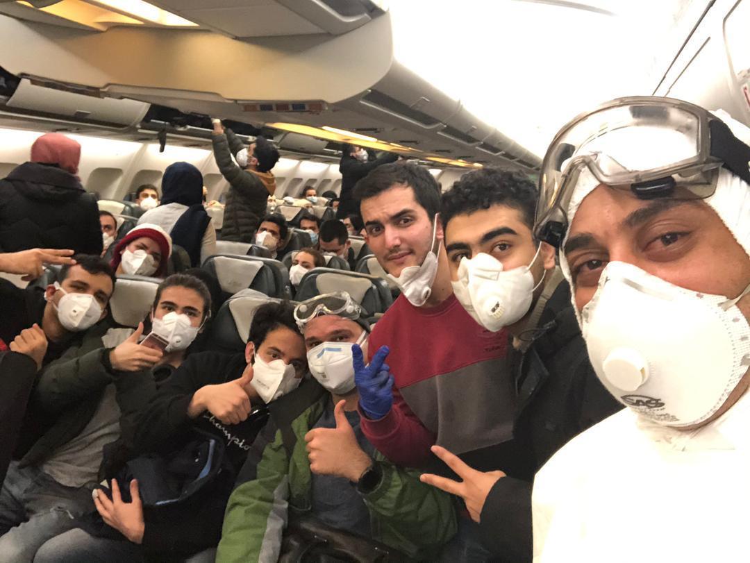 شرایط دانشجویان بازگشته از چین در قرنطینه