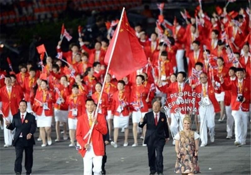 کاروان 711 نفره چین با 35 قهرمان المپیک به ریو می رود