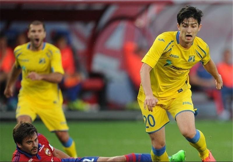 آزمون در اولین ترکیب تاریخی لیگ قهرمانان روستوف