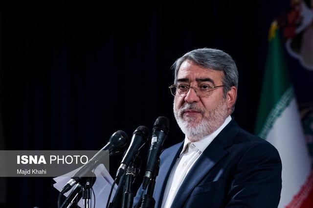قدردانی وزیر کشور از همراهی مردم در روز سیزده بدر