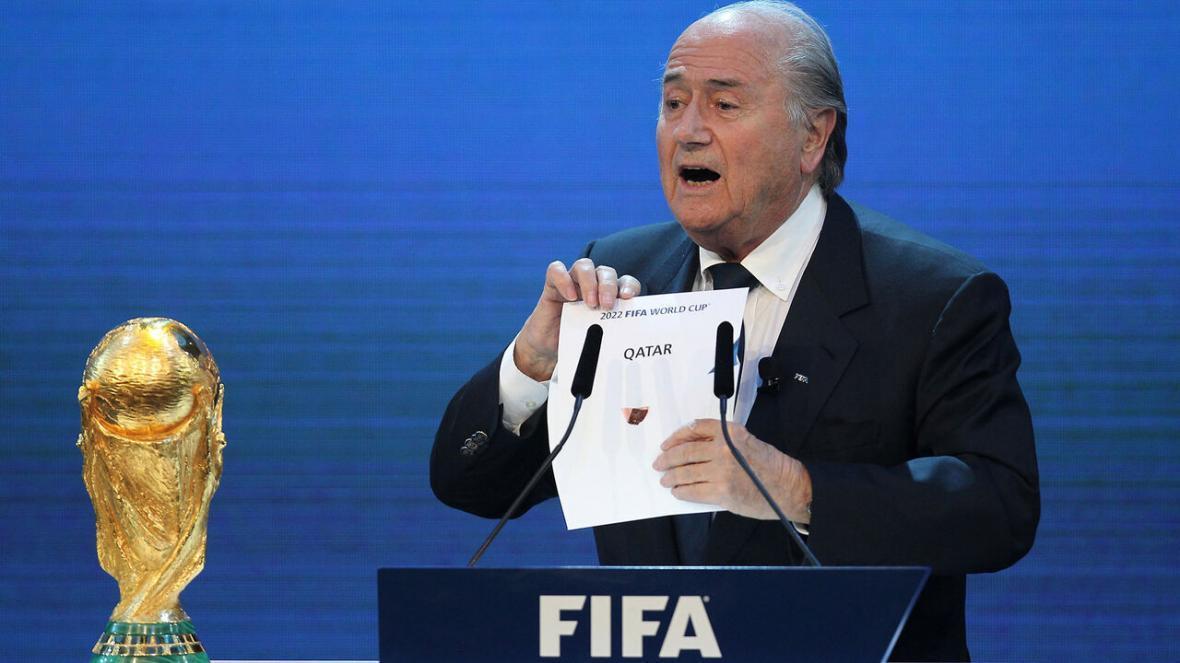 خبرنگاران بلاتر: آمریکا می تواند به جای سال 2026 از جام جهانی 2022 میزبانی کند