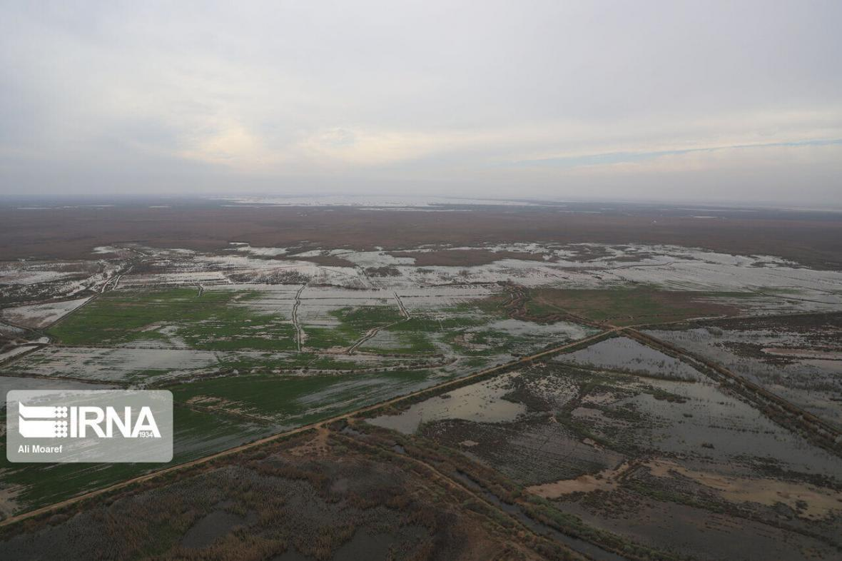 خبرنگاران حوادث طبیعی بیش از هزار میلیارد تومان به کشاورزان یزد خسارت زد