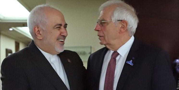 ظریف و مسئول سیاست خارجی اتحادیه اروپا تلفنی گفت وگو کردند