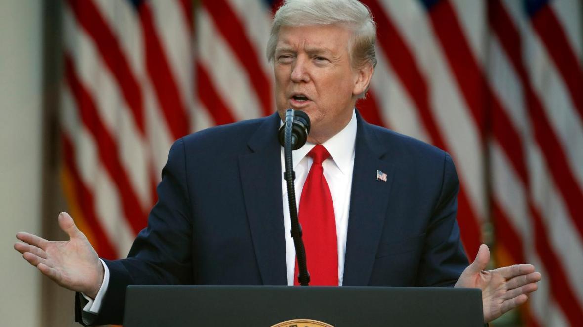 ترامپ انتخابات نوامبر 2020 را مهم خواند