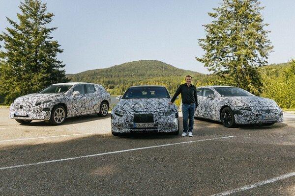 مرسدس 6 خودروی برقی جدید می سازد