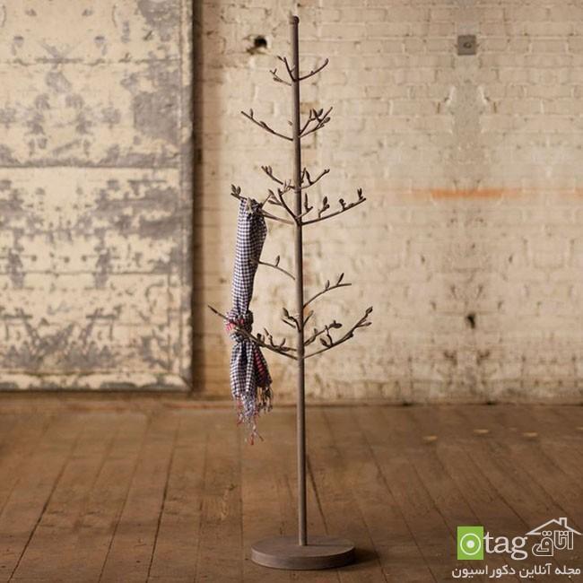 مدل چوب لباسی شیک و جالب با طراحی خلاقانه و دکوراتیو