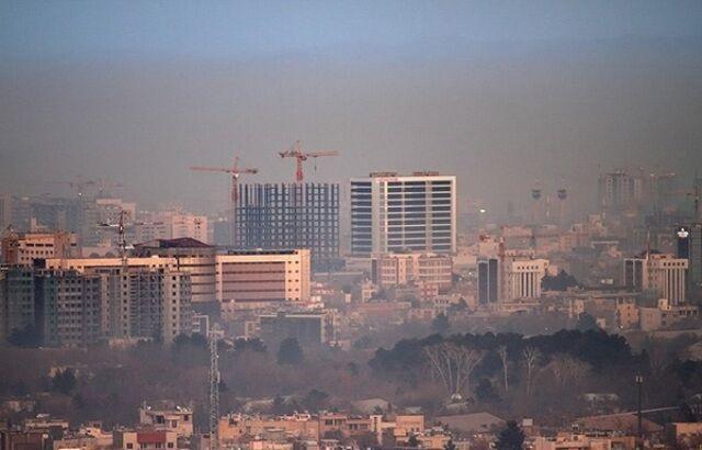 خبرنگاران کیفیت هوای مشهد در شرایط هشدار است