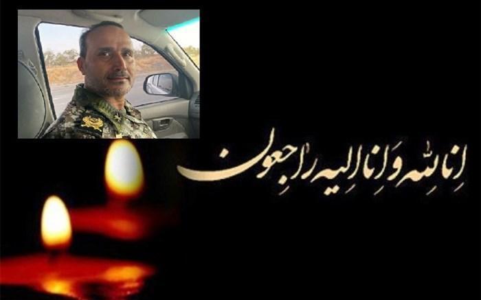 پیغام تسلیت مدیرکل آموزش و پرورش مرکزی در پی درگذشت ارشد نظامی ارتش جمهوری اسلامی ایران در استان