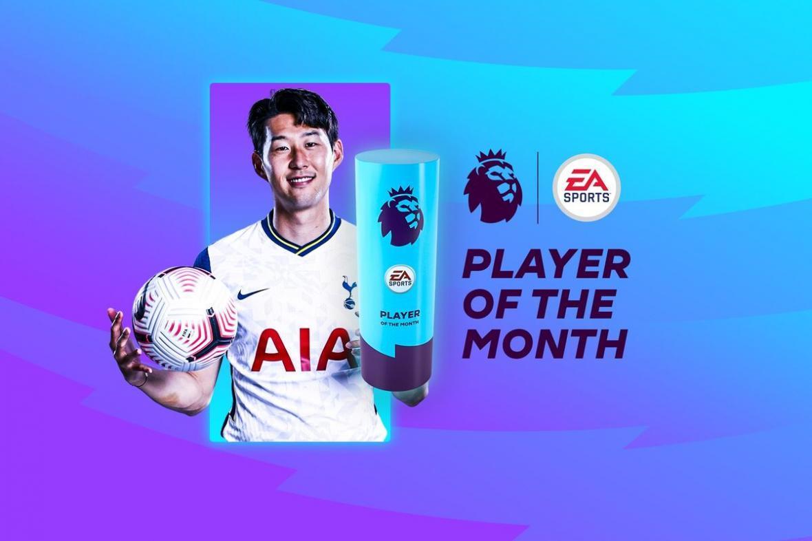 هئونگ مین سون بهترین بازیکن ماه لیگ برتر انگلیس شد