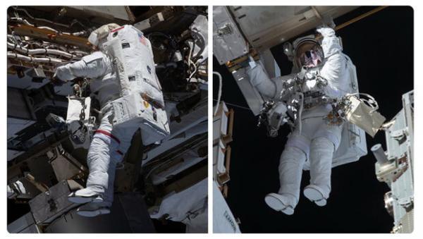 باتری های ایستگاه فضایی بین المللی ارتقا یافت