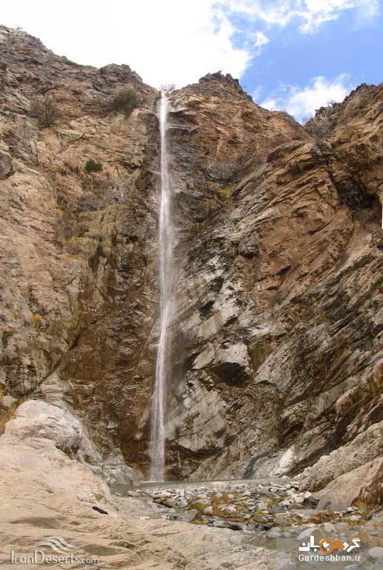 آبشار سرنکوه؛آبشار زیبا و مرتفع جیرفت، عکس