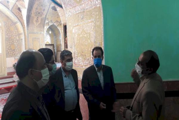 بنای تاریخی امام زاده سیداحمد هزاوه در اراک بازسازی می گردد