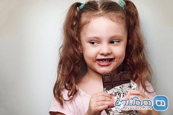 شکلات برای بچه ها زیر یک سال ممنوع است