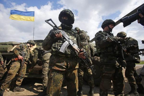 شرایط جنگی در مرز اوکراین و روسیه