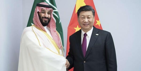 گفت و گوی تلفنی رئیس جمهور چین و ولی عهد سعودی