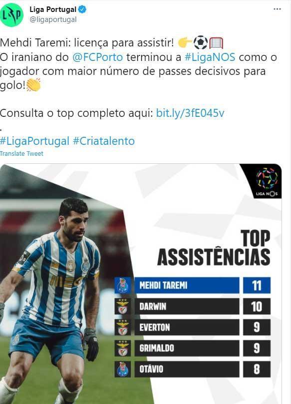 تیتر جالب لیگ پرتغال برای طارمی: نگاه کن تا یاد بگیری!