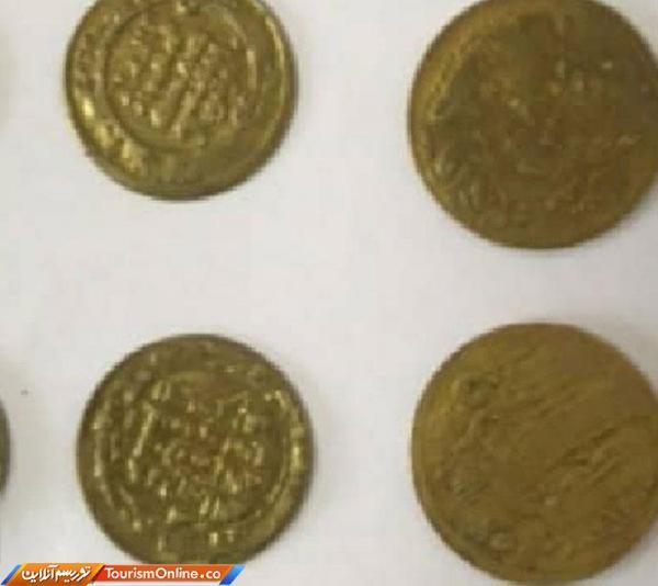 کشف سکه های تاریخی با همکاری مشترک پلیس قزوین و کاشان